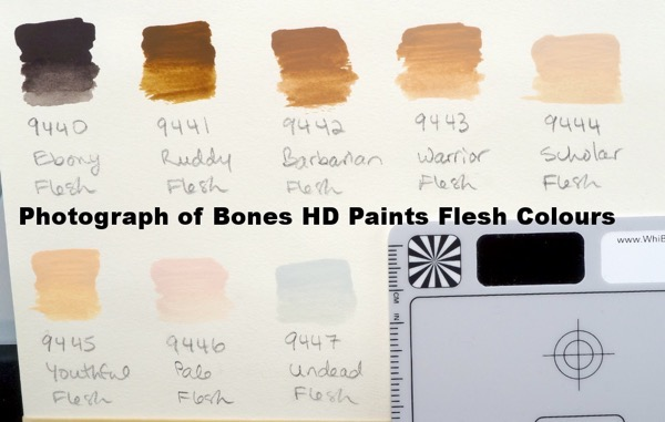 Bones HD Flesh Tones - photo