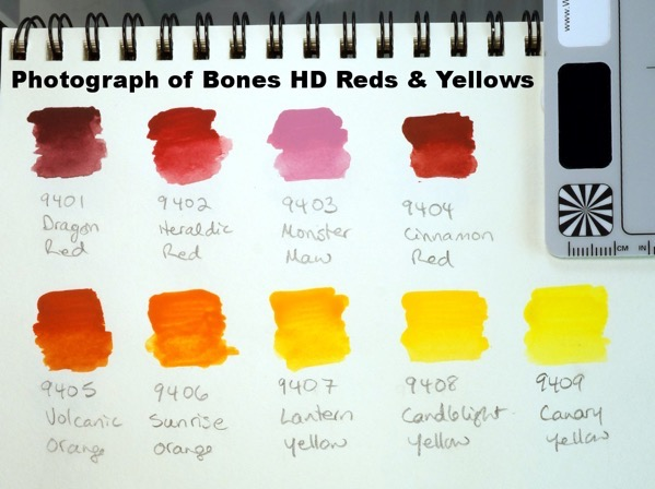 Bones HD Reds and Yellows - photo