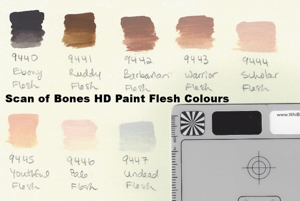 Bones HD Flesh tones - scan