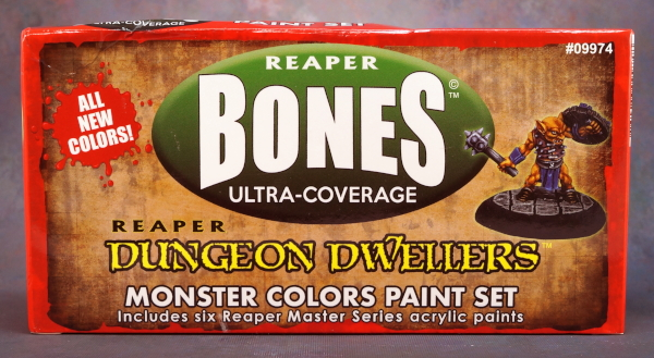 Dungeon Dwellers Monster paint box - front