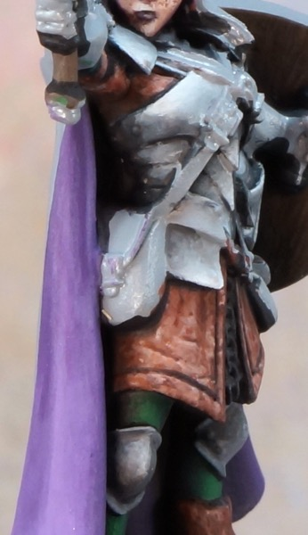 Rough in of NMM from side view.