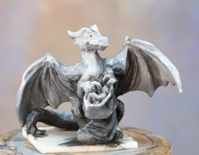 Stocking Dragon grayscale primer front