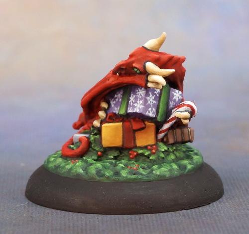 Christmas dragon hoard gift pile