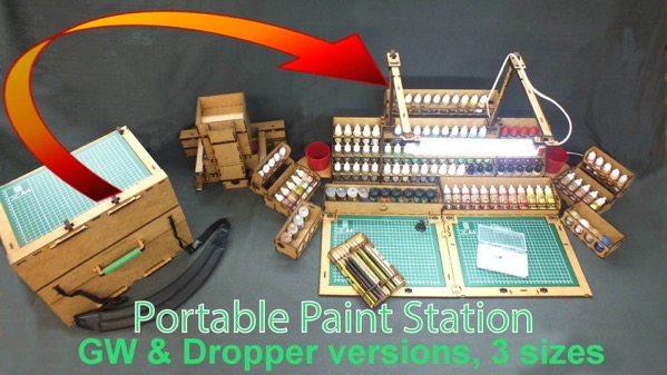 Portable Paint Station