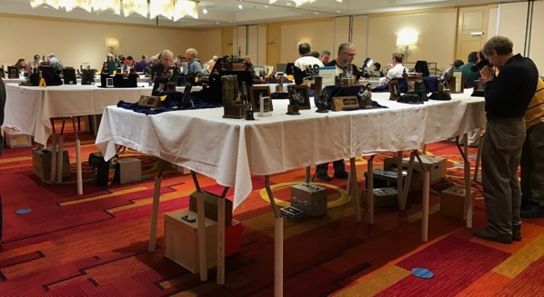 Entries display at Atlanta Model Figure Show 2018