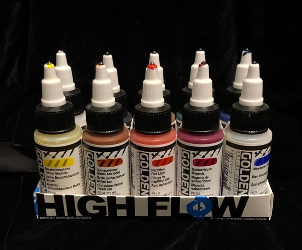 Golden High Flow paints