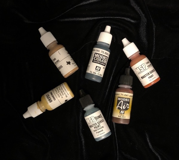 Miniature paints