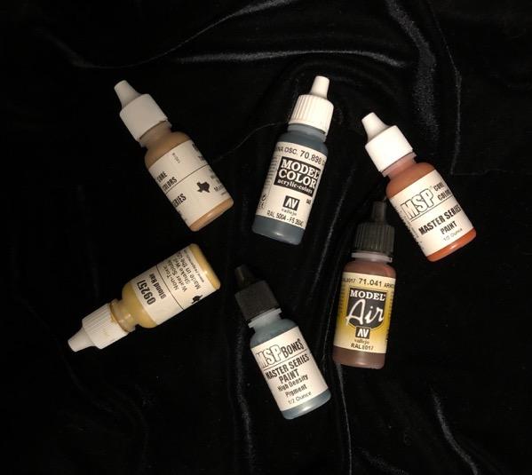 Miniature paints