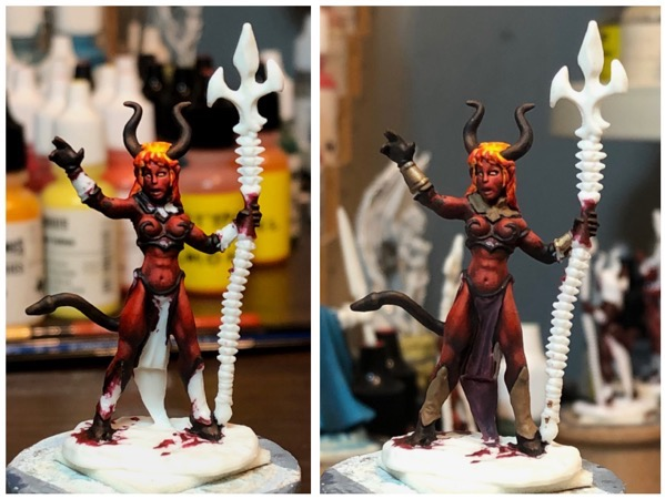 Efreet test paint