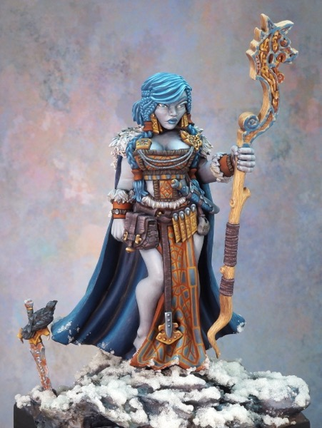 Frost Giantess front view