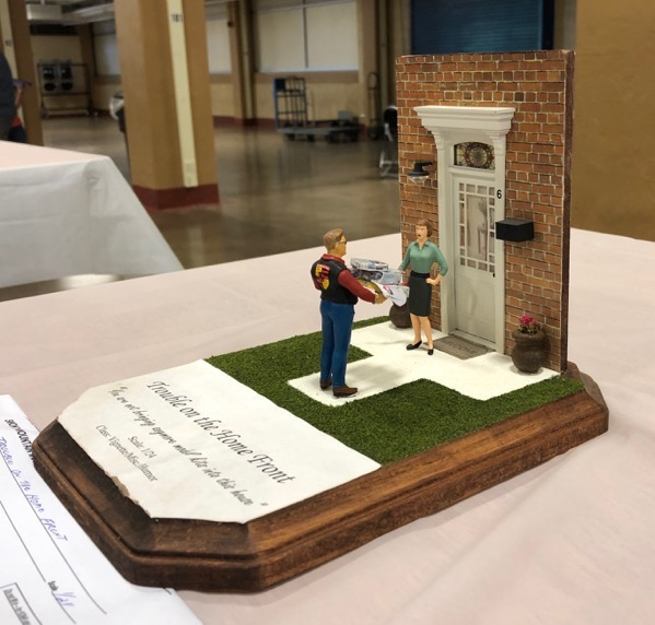 Hobby woes diorama at Smoky Mountain Model Con