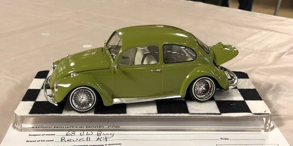 VW Bug at Smoky Mountain Model Convention