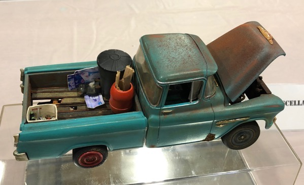 Old truck from Smoky Mountain Model Con