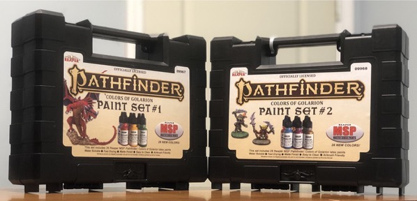 Pathfinder Paint boxes exterior