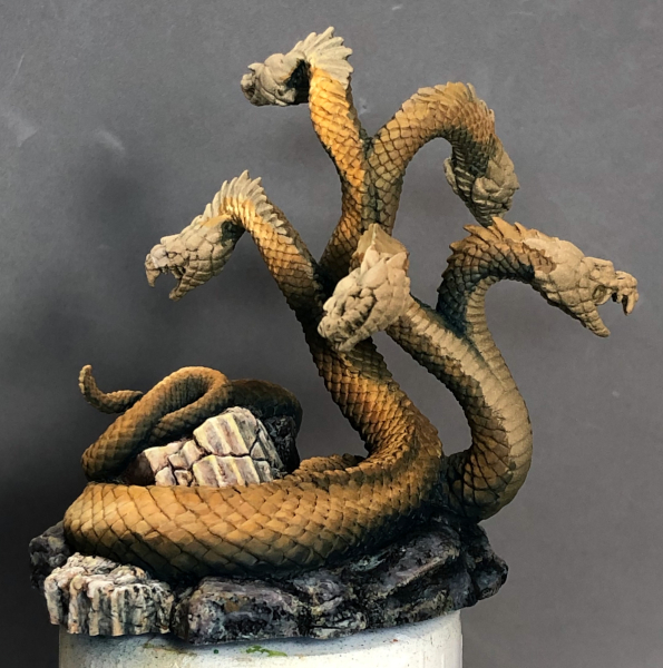 Hydra - pre scale lining