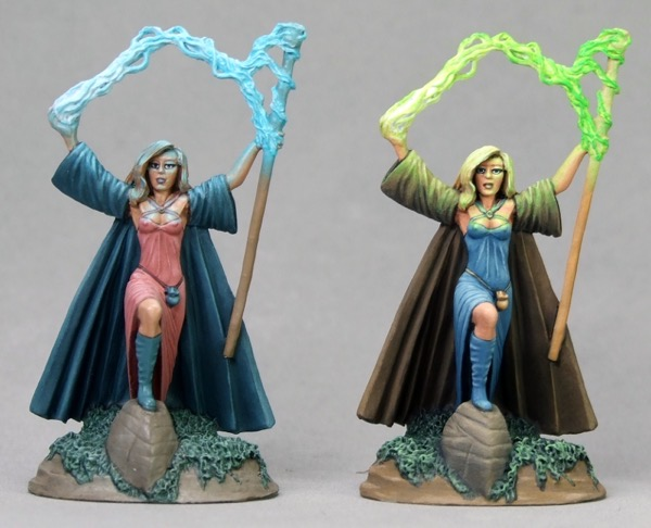 OSL Mages Comparison