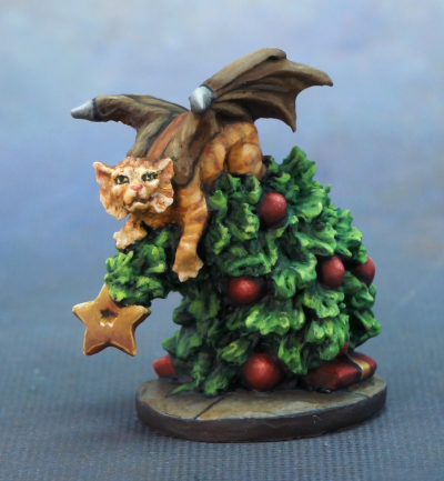Cat Dragon and Tree