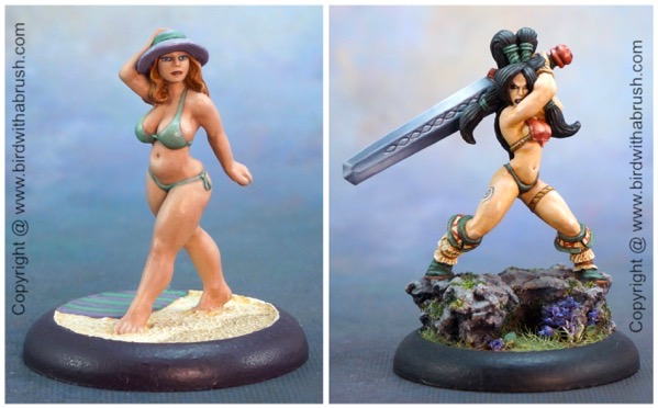 Libby vs Eriu original paint