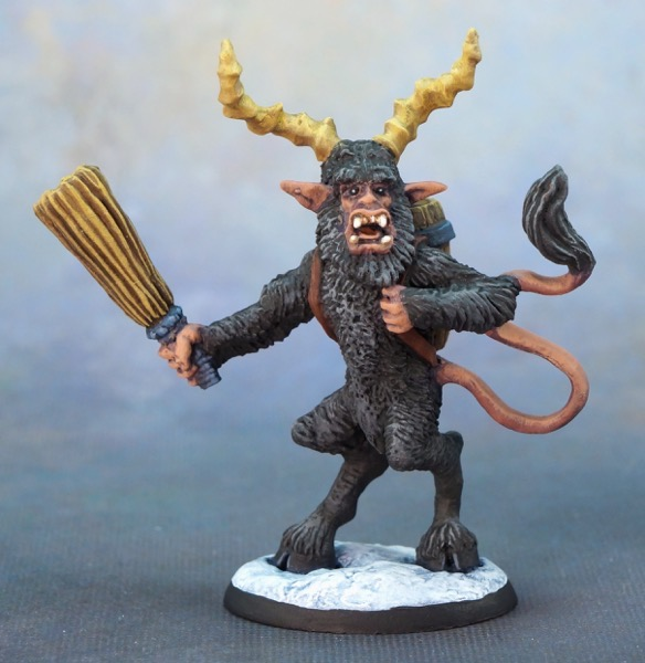 Krampus blue front full