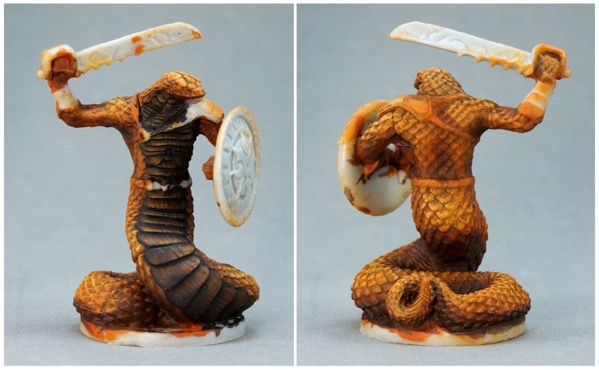 Snake rust rve