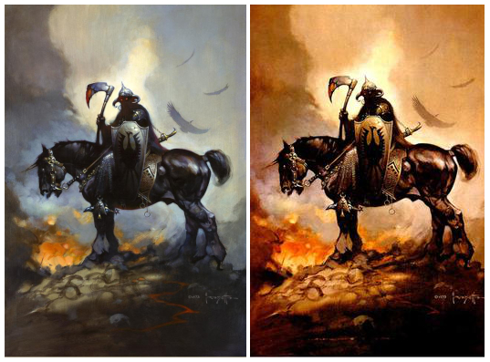 Frazetta paintings