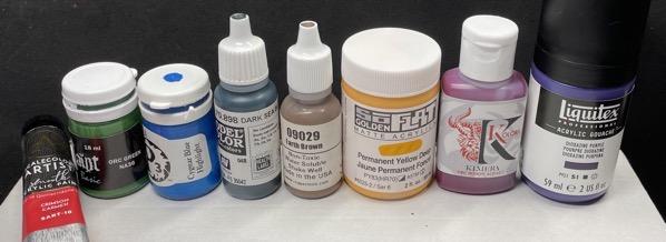 Dilution paints colour