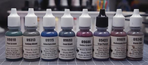 Base wash paints