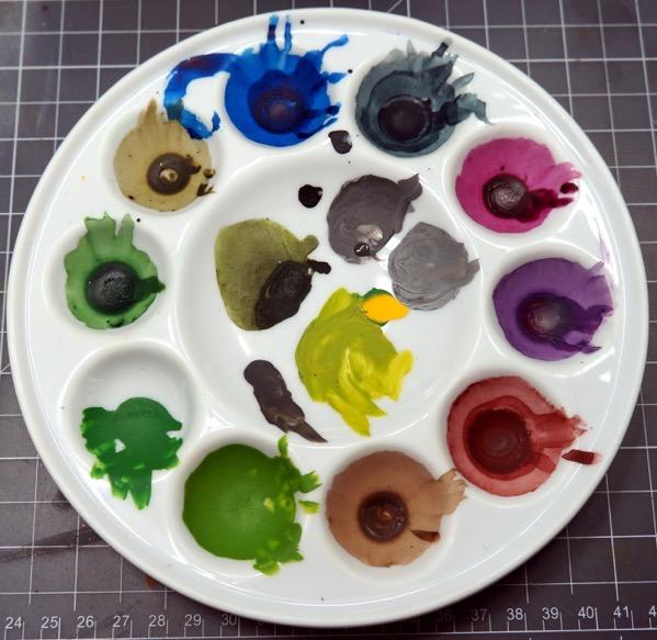 Base wash palette