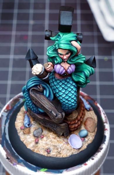Wip mermaid anchor top